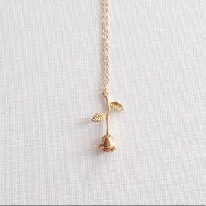 acacia rose necklace